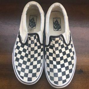 Beloved checkered VANS